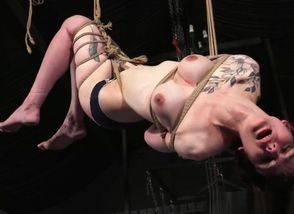 Tatted suspension restrain..