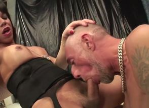 insatiable ladyboy  And Facial..