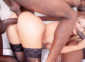 4 Ebony Fellows for Ash-blonde..