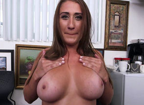 Lusty Big-boobed Skyler Luv Gets..
