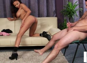 Buxomy black female domination..