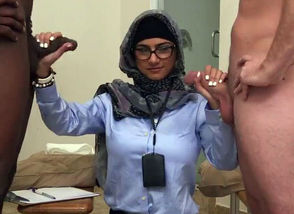 Massive arab salami smashes and..