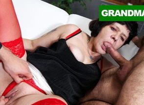 2 Brothers Screw a Horny Grandma