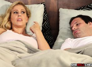 Cherie DeVille deep-throating a..